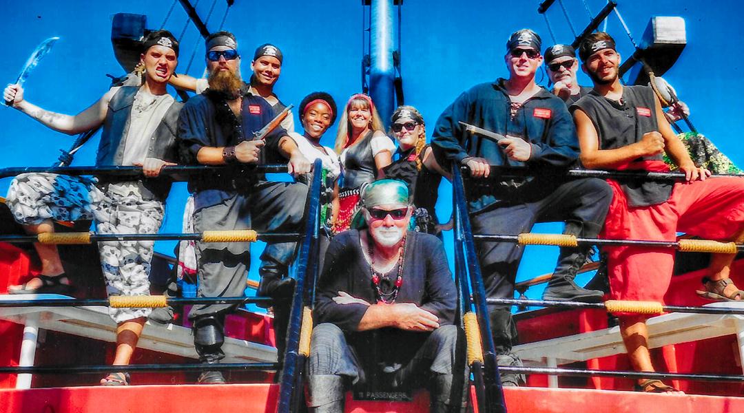 Captain Memos Pirate Cruise Crew