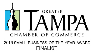 Greater Tampa Bay Chamber of Commerce Award