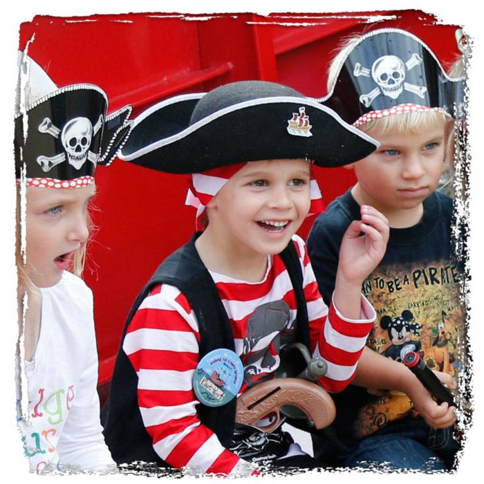 kids birthday parties captain memo s pirate cruise